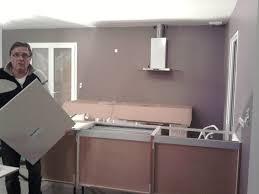 installation de la hotte de cuisine construction maison installation cuisine idées design installation