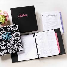 custom wedding planner innovative personalized wedding planner book my organizer diy