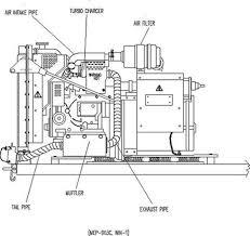 diesel generator muffler parts diagram diagram portable diesel