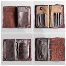 mens travel wallet images Handmade best leather travel wallet men 39 s clutch card holder