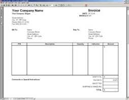 word invoice template download