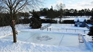Backyard Rink Ideas Backyard Rinks Backyard Rink Iron Sleek Inc Ideas Collection