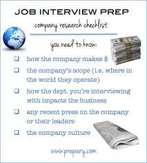 checklist company research the prepary the prepary