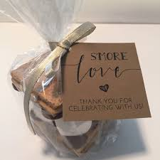 smores wedding favors s more favor tags s mores favor kits smore