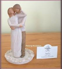 willow tree cake toppers together cake topper figurine from willow tree free u s