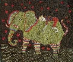 Wool Hand Hooked Rugs 189 Best Rug Hooking Modern Images On Pinterest Punch Needle