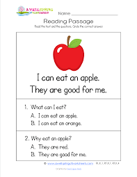 2nd Reading Comprehension Worksheets Kindergarten Reading Passages Check Out These 18 Worksheets Each