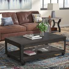 Pictures Of Coffee Tables In Living Rooms Modern Coffee Tables Allmodern