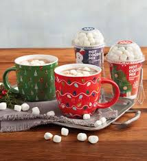 hot chocolate gift hot chocolate gift set with mugs