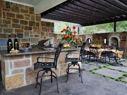 cute outdoor kitachen backsplash ideas outdoor kitchen