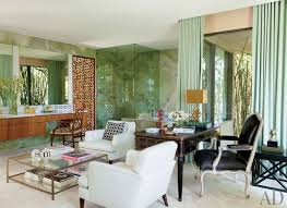 Veranda Mag Feat Views Of Jennifer Amp Marc S Home In Ca 375 Best Decorating With Green Images On Pinterest Burgundy Rugs