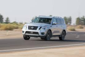 nissan armada 2017 crash test 2017 nissan armada platinum first test review motor trend canada