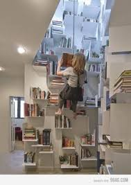 Swinging Bookcase I Bet There U0027s A Little Hobbit Up At The Top Of Those Stairs Too