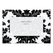 blank invitations blank invitations rectangle landscape soft blue black beautiful