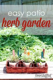 Patio Herb Garden Ideas 65 Inspiring Diy Herb Gardens Shelterness