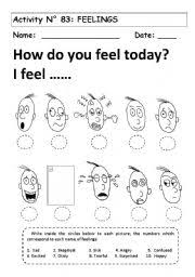 14 best images of feelings worksheets for teens emotions and
