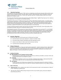 Plan Template Business Plan Template For Ecommerce