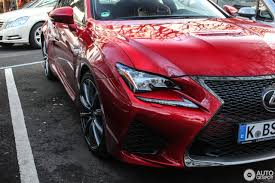 lexus rc f stance lexus rc f 12 october 2017 autogespot