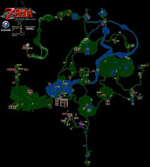 Poe Maps Loz Twilight Princess Map By Mada12 On Deviantart