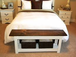 Foot Of Bed Bench With Storage Best 25 End Of Bed Bench Ideas On Pinterest Bed Bench Narrow