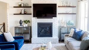livingroom fireplace home interior
