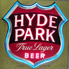 light up beer signs hyde park true lager beer light up sign