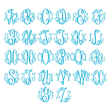 3 initial monogram fonts how to work with purchased monogram files in silhouette studio