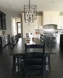 Best  Long Dining Tables Ideas Only On Pinterest Long Dining - Black kitchen tables