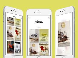 vitra gallery app and prototype sketch freebie download free