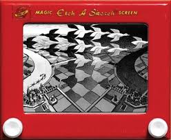 amazing etch a sketch art