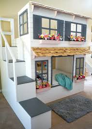 Industrial Bunk Beds Boys Loft Bed With Slide Best Bunk Bed Ladder Ideas On Industrial