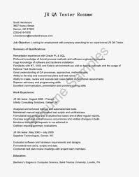 Sample Computer Technology Resume Qa Tester Resume Resume Cv Cover Letter