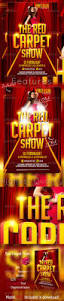 red carpet show flyer template by graficandmedia graphicriver