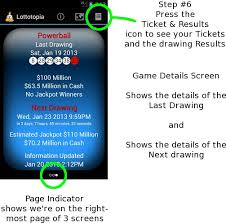 7 Steps And 70 Hours by Appade Lottotopia For Android Help