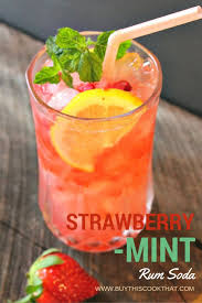 strawberry mint rum soda buy this cook that