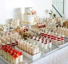 wedding wednesday dessert bars bridal reflections