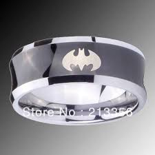 batman wedding ring e c jewelry free shipping usa wholesales cheap price 8mm