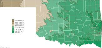 map ok panhandle oklahoma physical map and oklahoma topographic map