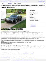 used lexus for sale in detroit for 6 500 this 1985 maserati biturbo is a biturbo no more