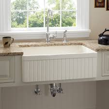 Dining  Kitchen Cool Ways To Install Farmhouse Sinks To Your - Farmhouse kitchen sinks with drainboard