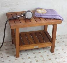 Teak Shower Bench Corner Bench Pollenex Solid Teak Spa Corner Shower For Amazing Property