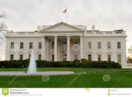 front view of white house washington dc stock image image