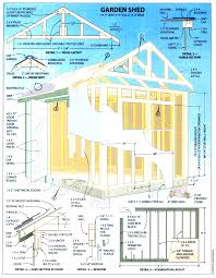 free wood cabin plans step by shed beauteous corner corglife