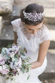 headdress for wedding phoebe headpiece pearl and floral hair garland
