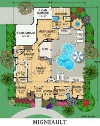 U Shaped House Plans With Courtyard U Shaped House Plans With Pool In The Middle Pg2 Architect