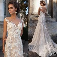 discount glamorous long full lace a line milla nova vena wedding
