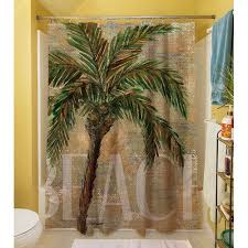 Shower Curtains With Trees Palm Tree Shower Curtain Curtains Ideas
