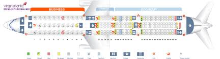 Virgin Atlantic Route Map 787 9 Seat Map My Blog