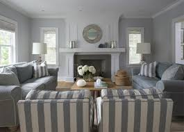 the contemporary gray and tan living room property remodel