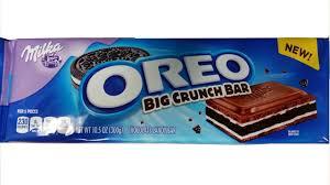 Where To Buy White Fudge Oreos Amazon Com Milka Oreo Alpine Milk Chocolate 3 5 Oz Bar Pack Of